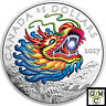 2017 'Dragon' Colorized Proof $25 Silver Coin 1oz .9999 Fine (18109) (NT)