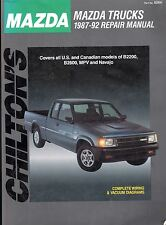 1987-1992 Chilton Mazda Trucks Repair Manual