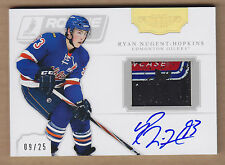 11-12 2011-12 Dominion Pucks Ryan Nugent-Hopkins Gabriel Landeskog Auto RC /25