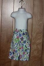 GIRL'S THE CHILDREN'S PLACE FLORAL PANTS-SIZE: 6
