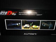 Autoart Toyota Trueno Sprinter AE86 Corolla 1986 Initial D Legend 1 Ver. 1/18