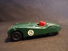 Old Vtg Mini Models Toy Jaguar Steer Toy Car Made In England Green