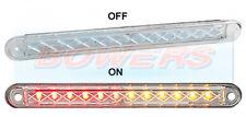 LED Autolamps 24V sottile compatta Flush Fit ad incasso POSTERIORE STOP TAIL spia luminosa