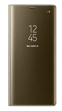 Funda Clear View para Samsung Galaxy Note8 dorado
