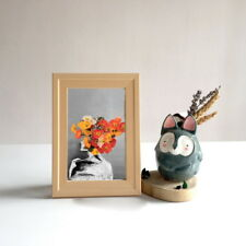 Poppies Head Graphic Design Art Prints Wall Home Office Decor Unframed