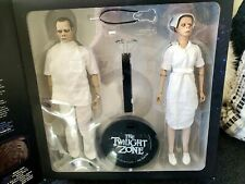 "Twilight zone THE EYE OF THE BEHOLDER SIDESHOW 12"" FIGURES newinbox NEVER OPENED"