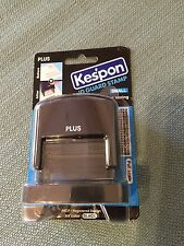 KESPON GUARD YOUR ID STAMP, BLACK, SMALL, PREVENT ID THEFT, NEW