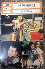 US Police Crime Drama The Glass Shield Ice Cube French Film Trade Card