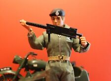 Action Man  Browning Machine Gun & Reproduction Mounting  Clip Black (WKA)