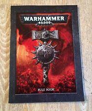 Warhammer 40k 40,000 Mini Regla Libro de 112 páginas