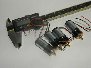 Maxon Motor miniature gear moter 337253 with 41:1 gears batch of 4