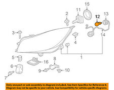 Buick GM OEM 14-17 Regal-Turn Signal Light Bulb 13503444