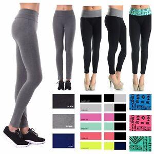 Women Soft Comfy Cotton Spandex Yoga Sweat Lounge Gym Sports Athletic Pants