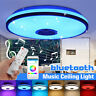 Modern 60W Dimmable LED RGBW bluetooth Music Ceiling Light APP Remote   Y
