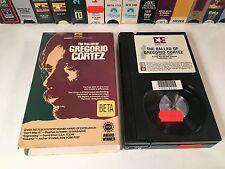 * The Ballad Of Gergorio Cortez Betamax NOT VHS 1982 Drama Edward James Olmos
