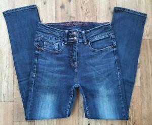 Ladies Next Enhancer jeans size 10 Waist 28 leg 29 Slim fit