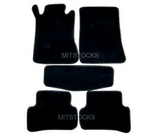 FIT FOR 2001-2007 BENZ W203 C-CLASS BLACK NYLON CARPET FLOOR MATS 5 PIECES NEW