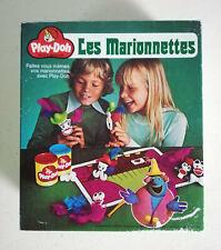 Vintage Play-doh les marionnettes pate a modeler