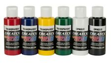 Createx kit 6 colori base trasparenti 60 ML (115199)