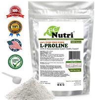 Pure L-Proline Powder 1000g USP Pharmaceutical Collagen Component By FCNUTRI