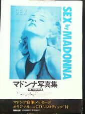 Sex by Madonna Photo Book with  Original CD and Book Cover Japan