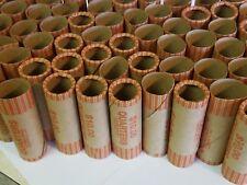 500 Quarter Paper Coin Wrappers. Pre-Crimped 1 End Shotgun Rolls. $0.25 Quarters