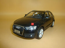 1/18 2012 China Audi Q3 black color