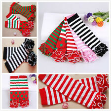 Cute Baby Childres Toddlers Kids Knee High Socks Tights Leg Warmer Stockings New