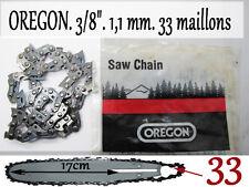 CHAINE tronconneuse OREGON 33 maillons 1.1 pour guide 20 cm coupe 17 cm env