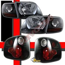 01-03 Ford F150 Pickup SVT Supercrew Harley Davidson Headlights + Tail Lights