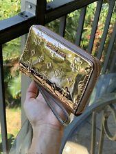 Michael Kors Women Leather Wallet Card Holder Phone Bag Purse Handbag Rose Gold