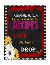 Essential Oil Premium Starter Kit Recipes: Love at First Drop Free Shipping