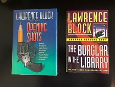 Lawrence Block Signed Presentation Copies to Fellow Author Peter Straub