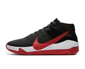 New KD13 mens Size 12 CI9948-002 red black kevin durant no.7
