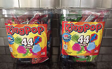 Ring Pop Candy Jar, Assorted Flavors (44 ct. Each Container) 2ct