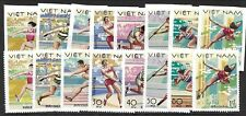 North Viet Nam Sc 926-33 NH PERF & IMPERF issue of 1979 - SPORT