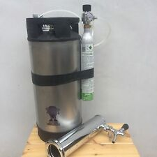 Kegerator Kit AEB Corny Cornelius Keg refurbished 19L sodastream CO2 regulator