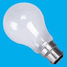 8 X 25w GLS Incandescent à Variation Standard Opale BC B22 Ampoule Lampe Lumière