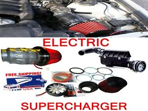 Fit For Volkswagen Performance Electric Air Intake Supercharger Fan Motor Kit