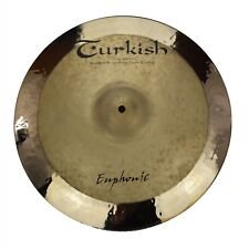 "TURKISH CYMBALS Becken 18"" Crash Rock - Euphonic bekken cymbale cymbal 1583g"