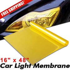 120X 40cm Yellow Tinting Film Fog Tail Lights Headlights Tint Wrap For Car SUV