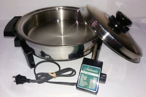 Liquid Core Skillet Stainless Steel Automatic Heat Control