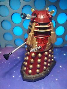 """Doctor Who Red Supreme Leader Dalek The Stolen Earth Journeys End 5"""" Figure"""
