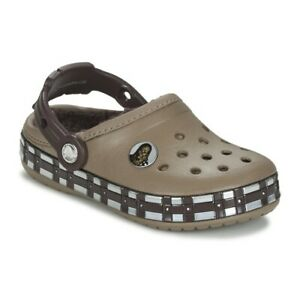 Crocs Size C6 C7  Star Wars Chewbacca Lined Clog Toddler Shoes