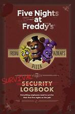Five Nights at Freddy's: Survival Logbook by Scott Cawthon, NEW Book, FREE & Fas