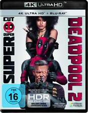 """DEADPOOL 2"" - MARVEL Superhelden Action - 4K ULTRA HD BLU RAY - 4-Disc-Set OVP"