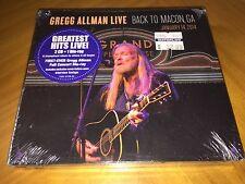 Gregg Allman Live: Back to Macon, GA (2CD & Blu-Ray Combo) Brand New & Sealed