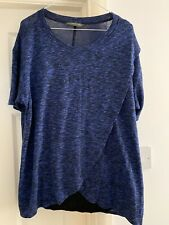 Blooming Marvellous Maternity Blue Top UK 14