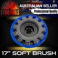"""17"""" Soft Brush for Floor Polisher Buffer Scrubber Cleaner"""