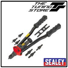Sealey AK3985 Long Arm Threaded Nut/Rivnut Riveter/Riveting Insert Kit M3-M12 BN